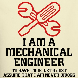 I Am A Mechanical Engineer 1 (2c)++ Bags  - Eco-Friendly Cotton Tote