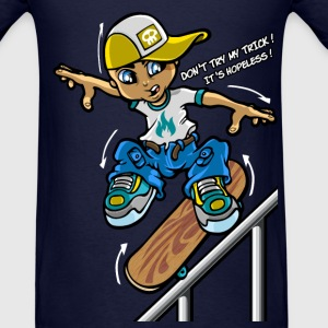 Skateboard trick T-Shirts - Men's T-Shirt