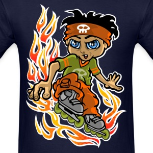 Burning rollers T-Shirts - Men's T-Shirt