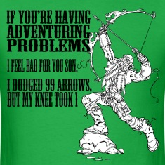 Arrow to the knee - HD Design T-Shirts