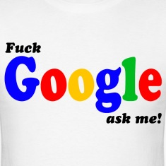 Fuck Google HD Design T-Shirts
