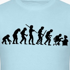 De-evolution - VECTOR T-Shirts
