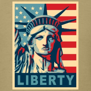 Lady Liberty - Men's T-Shirt