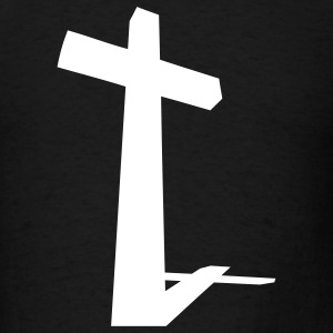 Christian Cross - Men's T-Shirt