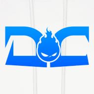 Design ~ MEN'S HOODIE: DotaCinema logo white