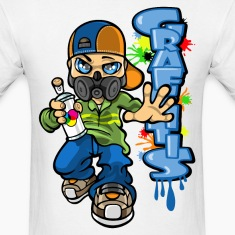 B-boy graffitis T-Shirts