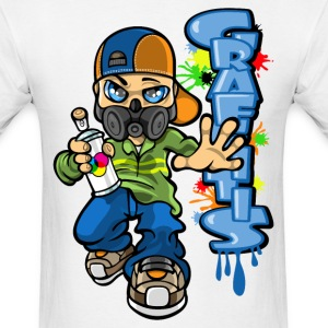 B-boy graffitis T-Shirts - Men's T-Shirt