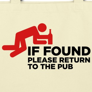 If Found Please Return 3 (2c)++ Bags  - Eco-Friendly Cotton Tote
