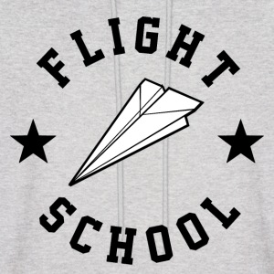 Flight School - Men's Hoodie