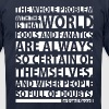 Bertrand Russell quote - Men's T-Shirt by American Apparel