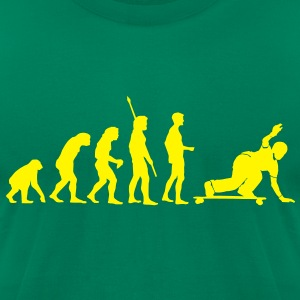 Evolution Downhill Skateboard Longboard Skater  T-Shirts - Men's T-Shirt by American Apparel