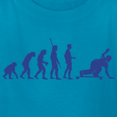 Evolution Downhill Skateboard Longboard Skater  Kids' Shirts