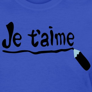 Je t'aime Women's Standard Weight T-Shirt - Women's T-Shirt