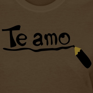 Te amo Women's Standard Weight T-Shirt - Women's T-Shirt