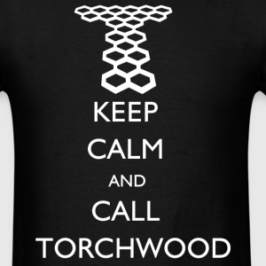 Doctor Who - Keep Calm and Call Torchwood T-Shirts - Men's T-Shirt