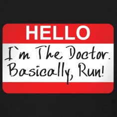 Doctor Who - Hello I'm The Doctor Women's T-Shirts