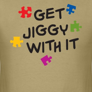 Get Jiggy With It T-Shirts - Men's T-Shirt