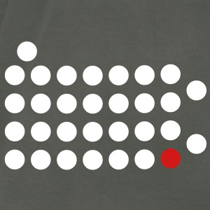 Philadelphia, PA - Abstract Dots T-Shirts - Men's T-Shirt by American Apparel