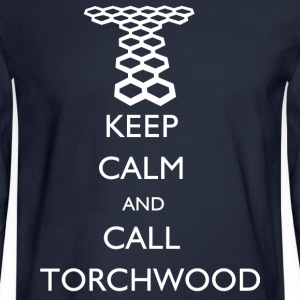Doctor Who - Keep Calm and Call Torchwood Long Sle - Men's Long Sleeve T-Shirt