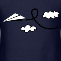 Paper Airplane T-Shirts