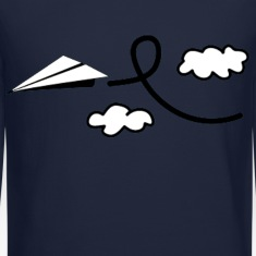 Paper Airplane Long Sleeve Shirts