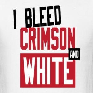 Bleed Crimson tee. - Men's T-Shirt