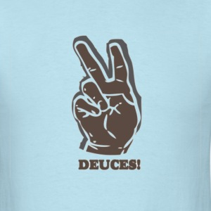 Deuces tee. - Men's T-Shirt