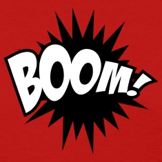 Boom Comic Book T-Shirt