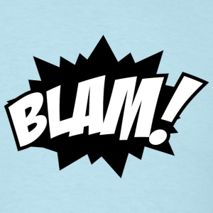 Blam Comic Book T-Shirt - Men's T-Shirt