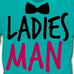 LADIES MAN with a black bow tie event Zip Hoodies/Jackets - Unisex Fleece Zip Hoodie by American Apparel