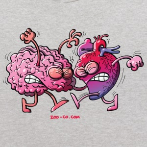 Hearth vs Brain Sweatshirts - Kids' Hoodie