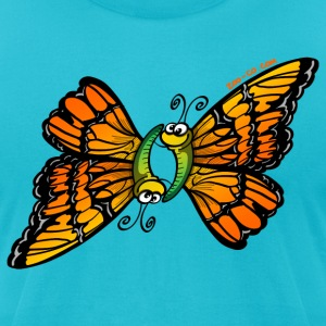Butterflies 69 T-Shirts - Men's T-Shirt by American Apparel