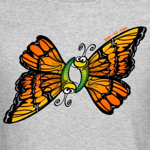 Loving Butterflies Men's Crewneck Sweatshirts - Crewneck Sweatshirt