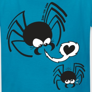 Dangerous Spider Love Kids' Shirts - Kids' T-Shirt