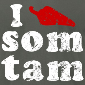 I Chili (Love) Som Tam | Vintage - Men's T-Shirt by American Apparel