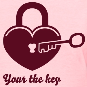 Lock to my heart 4 Women's T-Shirts - Women's T-Shirt