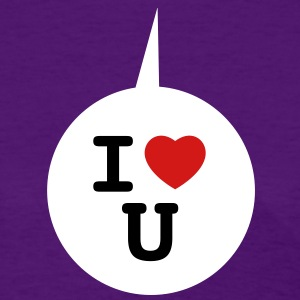 I heart U - Speech bubble 3c Women's T-Shirts - Women's T-Shirt
