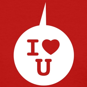 I heart U - Speech bubble 1c Women's T-Shirts - Women's T-Shirt