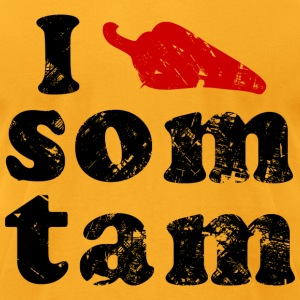 I Love Som Tam - Men's T-Shirt by American Apparel