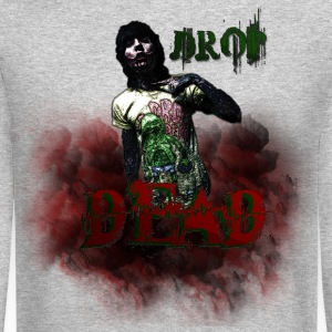 DROP DEAD Long Sleeve Shirts - Crewneck Sweatshirt
