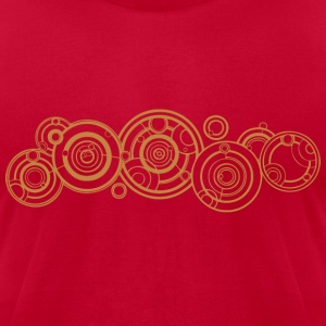 Doctor Who Gallifrey Name T-Shirts - Men's T-Shirt by American Apparel