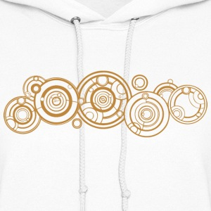 Doctor Who Gallifrey Name Hoodies - Women's Hoodie