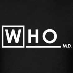 Doctor Who MD white T-Shirts