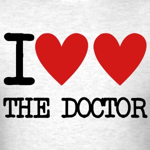 I Heart The Doctor T-Shirts - Men's T-Shirt