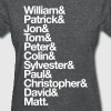 Doctor Who Actors' First Names Women's T-Shirts - Women's T-Shirt