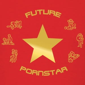 future pornstar - Men's T-Shirt
