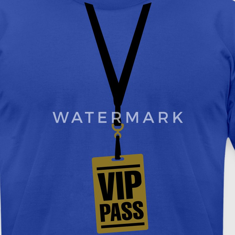 VIP pass T-Shirts - Men's T-Shirt by American Apparel