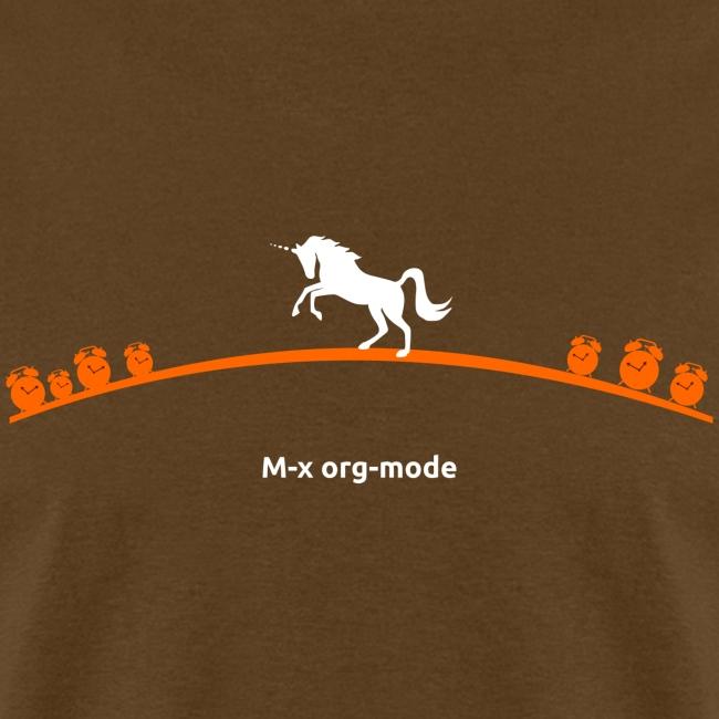 M-x org-mode ;; Standard weight