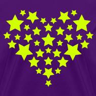 Design ~ Star Heart - Neon yellow