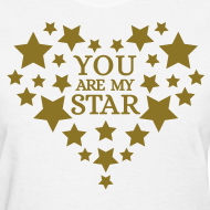 Design ~ You are my star - Gold metallic